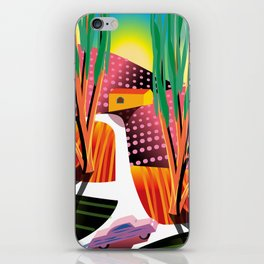 Sunset Curve iPhone Skin