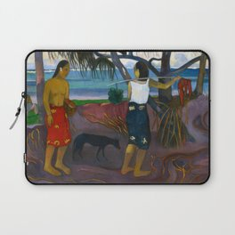 Under the Pandanus by Paul Gauguin Laptop Sleeve