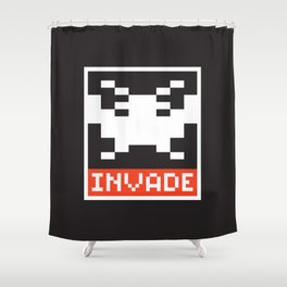 INVADE Shower Curtain