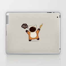 I May Be Awesome, but... Laptop & iPad Skin