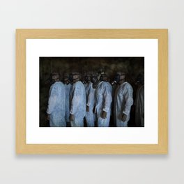 Mustard Gas Mechanics Framed Art Print