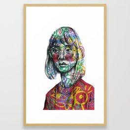Ur Insides Are Showing Framed Art Print
