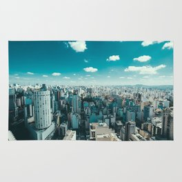 Sao Paulo Skyline Rug