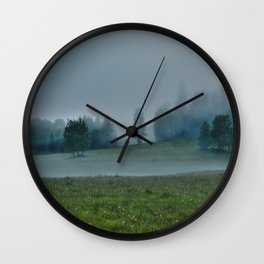 God's Pasture - Wilderness Ranch Land Wall Clock