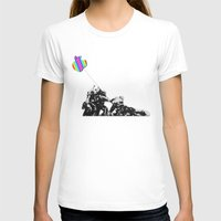 banksy T-shirts featuring Banksy style by veronica ∨∧