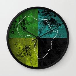 Tanzania III - Art In Support Of Kids 4 School Wall Clock
