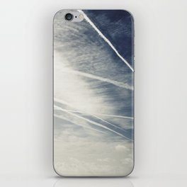 chemtrails iPhone Skin