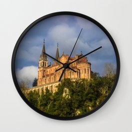 Basilica of Santa Maria la Real of Covadonga Wall Clock
