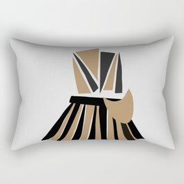 Fashion Designer Icons: Yohji Yamamoto Origami Rectangular Pillow