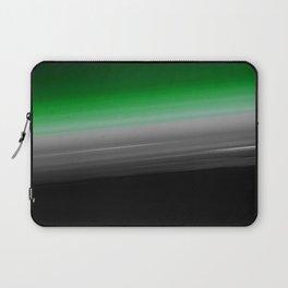 Green Gray Black Ombre Laptop Sleeve