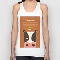 cows Tank Tops featuring Save Cows by Fun Factory