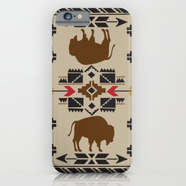 American Native Pattern No. 180 iPhone Case
