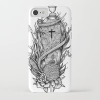 tomb raider iPhone & iPod Cases featuring Tomb by Giovanni Tamponi