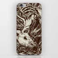 scary iPhone & iPod Skins featuring doe-eyed by Teagan White