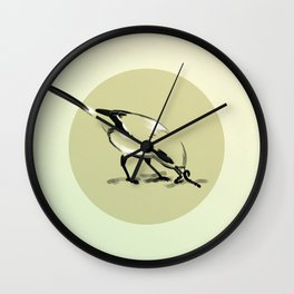 Worms Surface Wall Clock