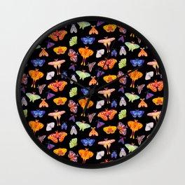 Moth Wall Clock