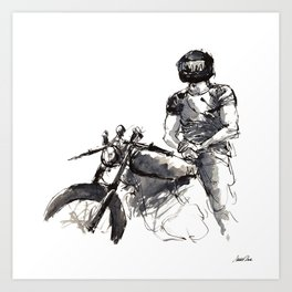 Rider 12 Art Print