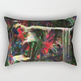 Lady of the Garden Rectangular Pillow