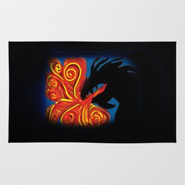 Dragon Fire Rug