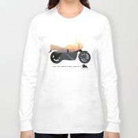 motorbike Long Sleeve T-shirts featuring motorbike- photo of freedom by GO-BIKE-GO