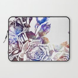 Rose Bloom Nebula Laptop Sleeve