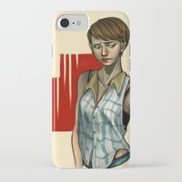 sam smith iPhone & iPod Cases featuring Sam by Kai Christie