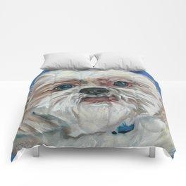 Ruby the Shih Tzu Dog Portrait Comforters