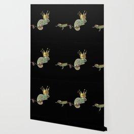 Chameleon Monarchy Wallpaper