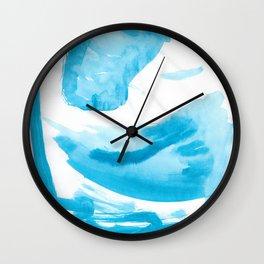 Expansion Watercolor Wall Clock