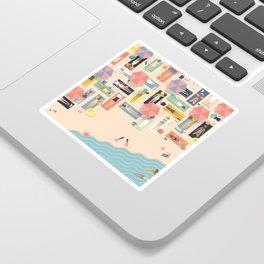 Summertime Sticker