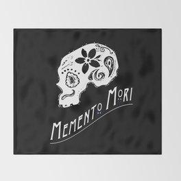 Memento Mori Throw Blanket
