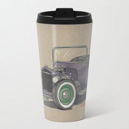 T-bucket Girl Metal Travel Mug