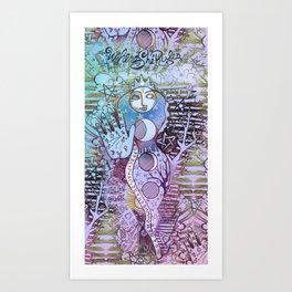 Magickal Solidarity Art Print