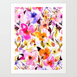 Bedroom Bloom Art Print