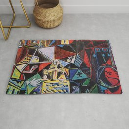 A roughly vectorised and reworked Picasso Rug
