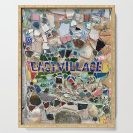 East Village NYC Mosaic Serving Tray