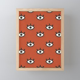 Curious Little Things (Patterns Please) Framed Mini Art Print