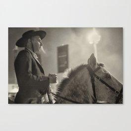 Feira da Golegã 2015 2 Horse Canvas Print
