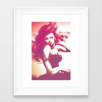 dance Framed Art Prints featuring Pepper Dance by Artgerm™