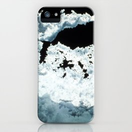 Watercolor Rock, Lechuguilla Cave 05, New Mexico, The Veil iPhone Case