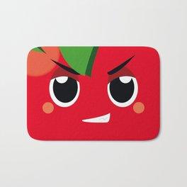 agathe tomato Bath Mat