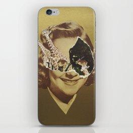 Golden Girl iPhone Skin