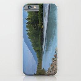 Portage Glacier River iPhone Case