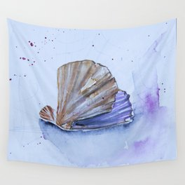 The great scallop - Pecten maximus Wall Tapestry