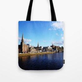 On The Bridge - Inverness - Scotland Tote Bag