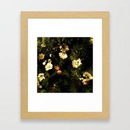 Floral Night III Framed Art Print