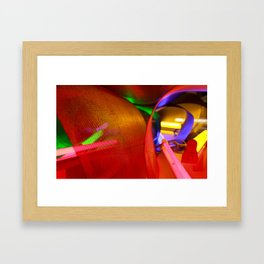 Look into the light Framed Art Print