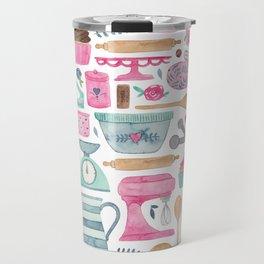 Baking Cakes Travel Mug