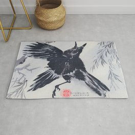 Crow And Willow Tree - Digital Remastered Edition Rug