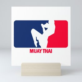 Muay Thai Mini Art Print